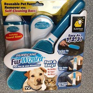 New Hurricane Fur Wizard Pet Fur & Lint Remover